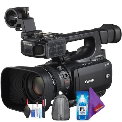 Canon XF100 HD Professional Camcorder + Pro Accessories Bundle