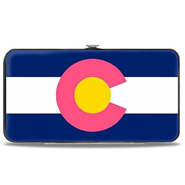 Buckle-Down Hinge Wallet - Colorado