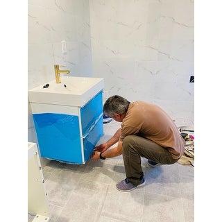 Luxury Solid Brass Single Hole Bathroom Faucet