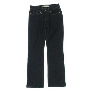 Levi's Womens Petites 529 Bootcut Jeans Denim Curvy Fit - 2p
