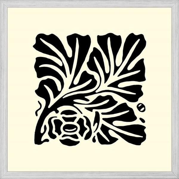 Easy Art Prints Vision Studio S B W Graphic Beauty Iii Premium Canvas Art Overstock 25747834