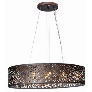 "ET2 E21310 9 Light 32"" Wide Chandelier from the Inca Collection"