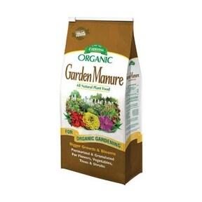 Espoma GM3 Organic Garden Manure Fertilizer, 3.75 Lb Bag