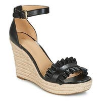 Michael Kors Womens Bella Wedge Open Toe Casual Ankle Strap Sandals - 9.5