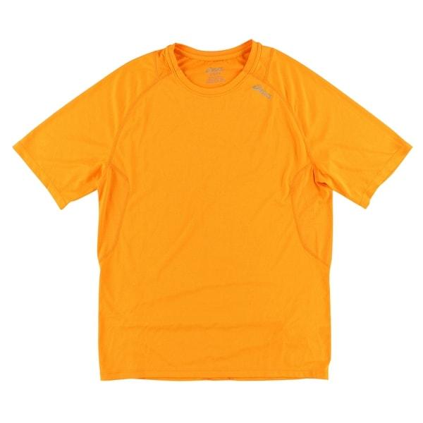 ceb5c85a0 Shop Asics Mens Favorite Short Sleeve T Shirt Neon Orange S - Neon Orange -  Free Shipping On Orders Over $45 - Overstock - 27546746