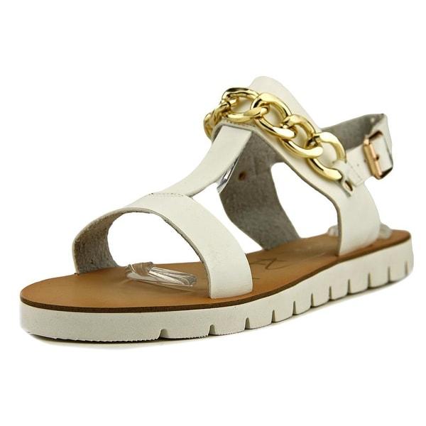 Modern Rush Olga Women Open-Toe Synthetic White Slingback Sandal