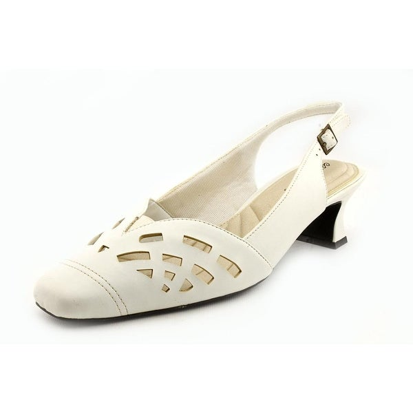 Easy Street Adorable Women White Pumps