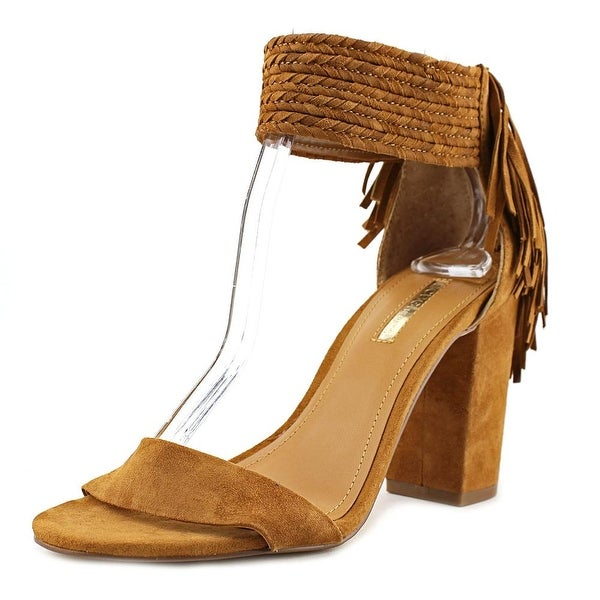 BCBGeneration Calizi Women Open Toe Suede Brown Sandals
