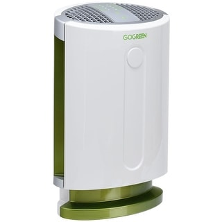 Goplus 3-in-1 Air Purifier HEPA Filter Particle Carbon Filter Odor