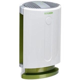 Goplus 3-in-1 Air Purifier HEPA Filter Particle Carbon Filter Odor Allergie Eliminator