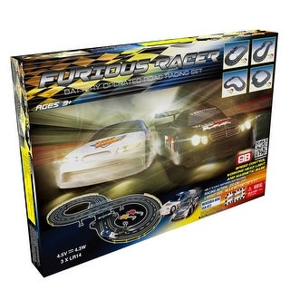 Link to Furious Racer Road Racing Slot Car Set - Battery Operated Similar Items in Toy Vehicles