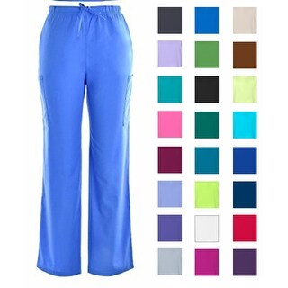 Unisex Scrub Cargo Pants DSF Medical Uniform Men Women 836