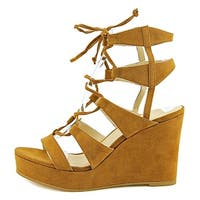 Nine West Womens Kaliope50 Open Toe Casual Platform Sandals