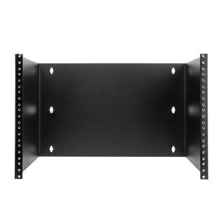 Offex Rackmount Patch Panel Hinged Wall Bracket, 7U, 12.5 (H) x 19 (W) x 12 (D) inches