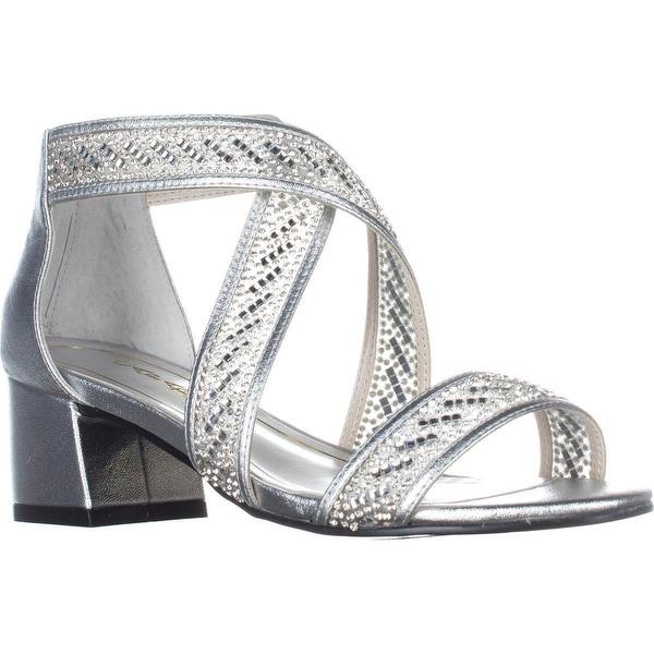 Caparros Imagine Kitten Heel Sandals, Silver