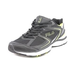 Fila Simulite 3 Men Round Toe Synthetic Black Running Shoe