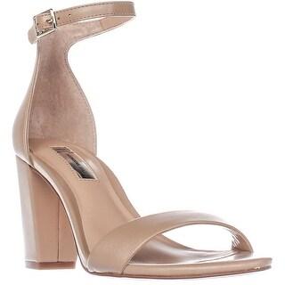 I35 Kivah Ankle Strap Dress Sandals, Dark Almond