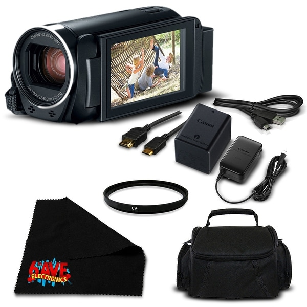 Canon VIXIA HF R800 Camcorder (Black) Full HD 1080p - Bundle