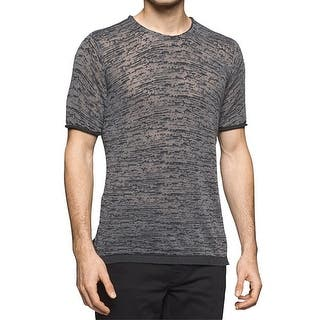 Calvin Klein NEW Gray Mens Small S Slim-Fit Burn-Out Tee Knit T-Shirt|https://ak1.ostkcdn.com/images/products/is/images/direct/adb4f99181111df870af4547f640f98da308408d/Calvin-Klein-NEW-Gray-Mens-Small-S-Slim-Fit-Burn-Out-Tee-Knit-T-Shirt.jpg?impolicy=medium