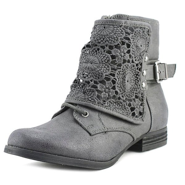 Not Rated Crunchy Crunch Women Round Toe Synthetic Ankle Boot