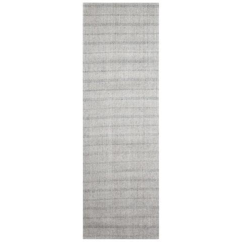 Lauren Ralph Lauren Handmade Miles Stripe Casual Wool Rug