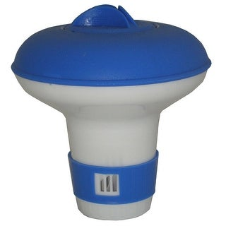 Jed Pool Tools 10-451 Mini Floating Chlorine and Bromine Dispenser