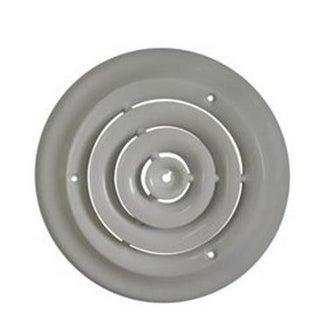 "Mintcraft SRSD06 Round Ceiling Diffuser, 6"", Whtie"