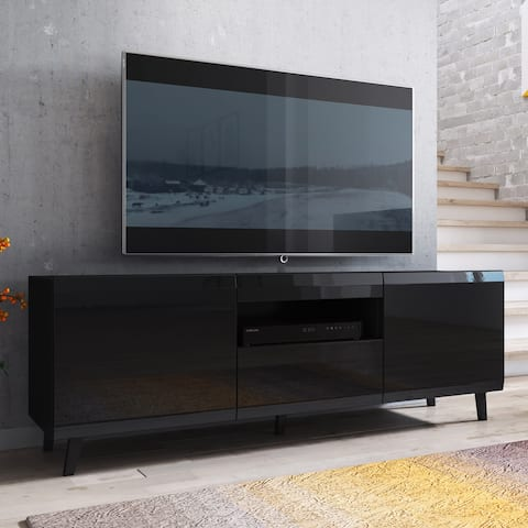 Soma Glossy Modern 59-inch TV Stand Entertainment Console