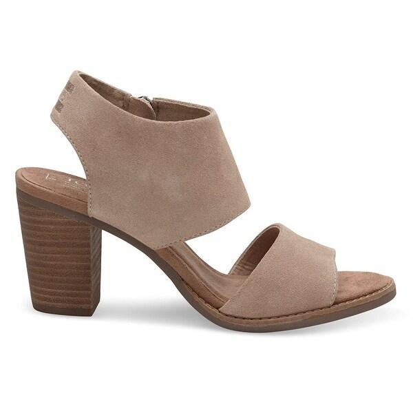 bd081f89e9a Shop TOMS Womens Majcut Cotton Open Toe Casual Mule Sandals - Free ...