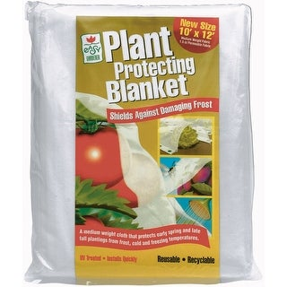 Easy Gardener 40154 Plant Protection Blanket, 10' x 12', White