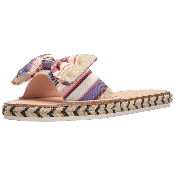 Kate Spade New York Womens Idalah Canvas Open Toe Beach Espadrille Sandals