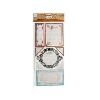 Timeless Self-Adhesive Cardstock Journaling Pieces - Pack of 24