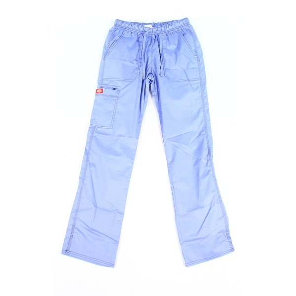 0a234217a4f Shop Dickies Blue Womens Size Small S Tall Work Scrub Stretch Pants - On  Sale - Free Shipping On Orders Over $45 - Overstock - 26995885