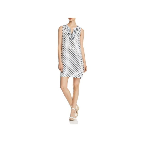 642d560786 Shop Beach Lunch Lounge Womens Kayla Tunic Dress Sleeveless Printed ...