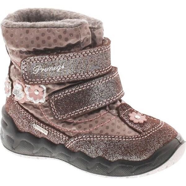 Primigi Girls 8556 Gore Tex Waterproof All Weather Boots - Brown