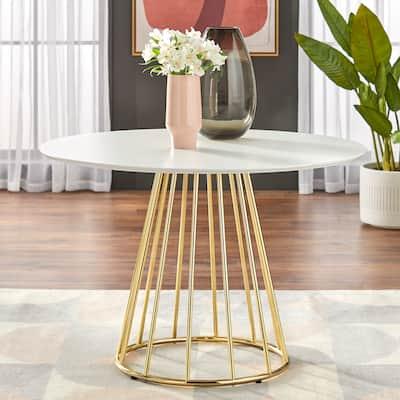 """Simple Living Marsai Round Dining Table - 43.3"""" diameter"""