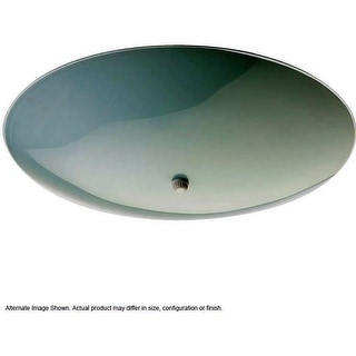 Quorum International Q3029-13 2 Light Semi-Flush Ceiling Fixture with White Frosted Glass Shade