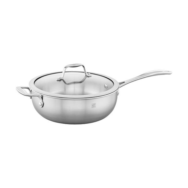 ZWILLING Spirit 3-ply 4.6-qt Stainless Steel Perfect Pan - STAINLESS STEEL