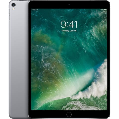 "Apple 10.5"" iPad Pro 256GB MPHG2LL/A (Wi-Fi & 4G, Gray) (Refurbished)"