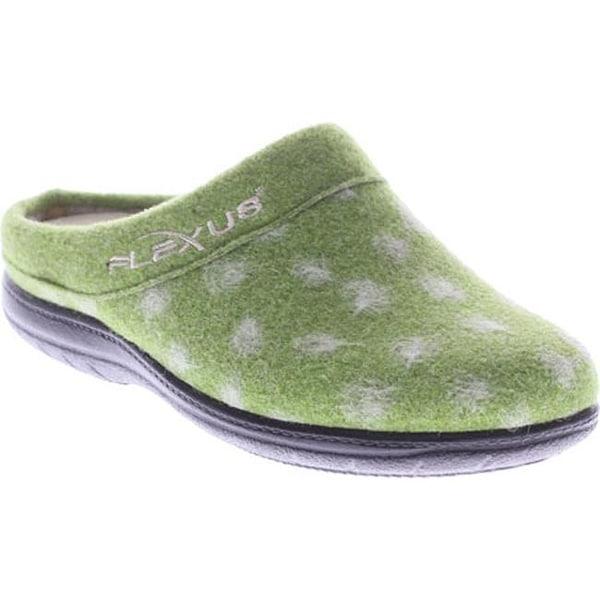 770bedef822e59 Flexus by Spring Step Women's Winchester Clog Slipper Green Wool