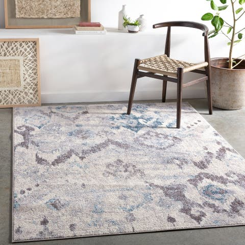 Kika Distressed Ikat Area Rug