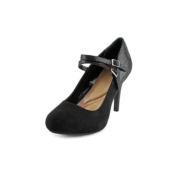 Style & Co. Womens PAYSLEE Round Toe Ankle Strap Mary Jane Pumps