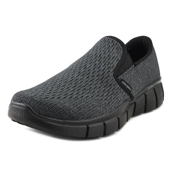 Skechers Marauder ‑ Mershon Men Round Toe Synthetic Black Walking Shoe