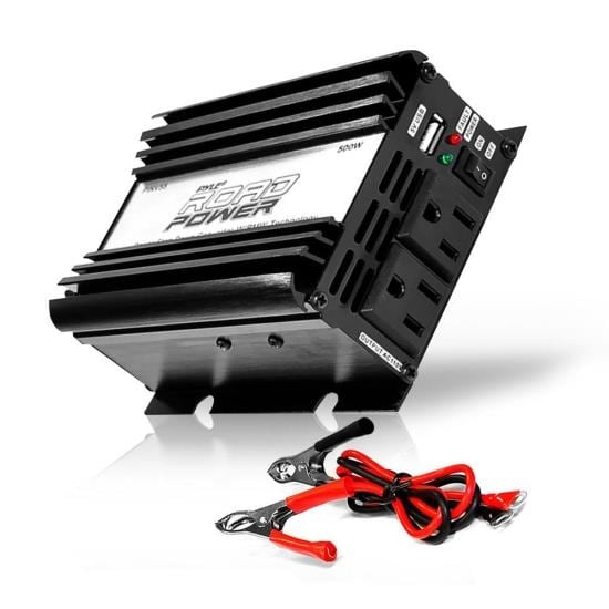 Plug in Car 500 Watt 12v DC to 115 Volt AC Power Inverter w/ Modified Sine Wave & 5 Volt USB Outlet