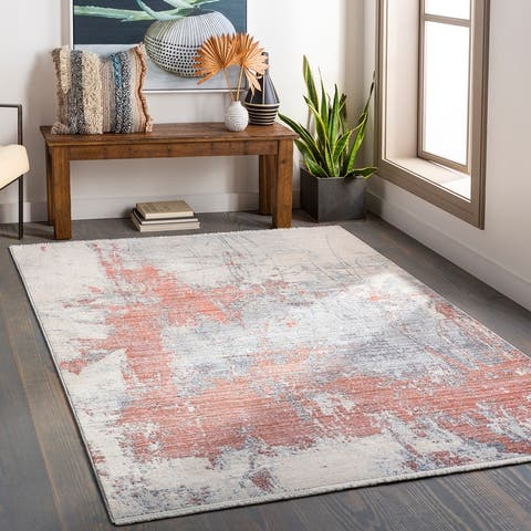Ozzie Contemporary Abstract Area Rug