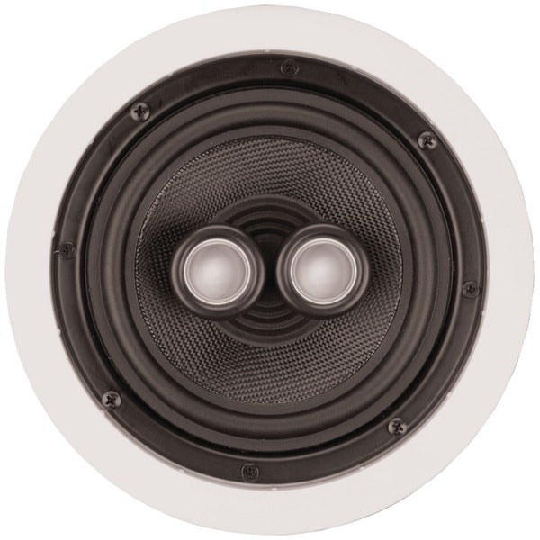 "Architech Ps-611 6.5"" Kevlar(R) Single-Point Stereo Ceiling Speaker"