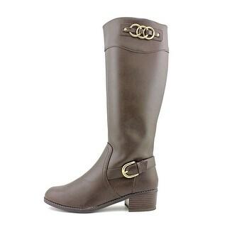 Karen Scott Womens Donnely Almond Toe Mid-Calf Fashion Boots