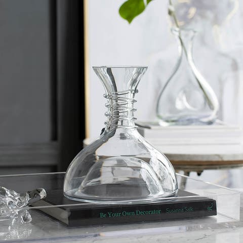A&B Home Clear Glass Decanter