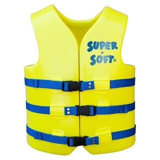 TRC Recreation Men's Super Soft USCG Life Vest - 10230