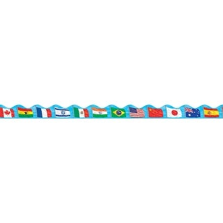 Flags Scalloped Trimmer